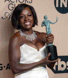 """Viola Davis wins fifth historic SAG Award for role in """"Fences"""" in Los Angeles"""