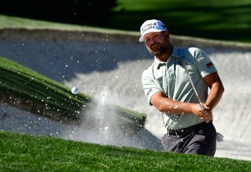 Ryan Moore during the third round at the Masters