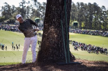 Trevor Immelman at the Masters
