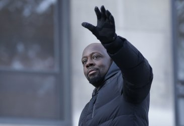 Wyclef Jean at Macy's Thanksgiving Day Parade