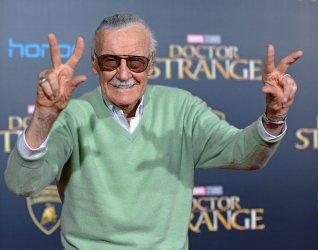 Stan Lee attends 'Doctor Strange' world premiere