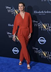 "Ellen Pompeo attends the premiere of ""A Wrinkle in Time"" in Los Angeles"