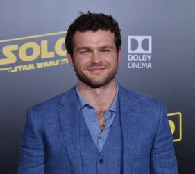 """Alden Ehrenreich attends the premiere of """"Solo: A Star Wars Story"""" in Los Angeles"""