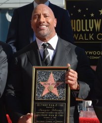 Dwayne Johnson honored with star on the Hollywood Walk of Fame in Los Angeles