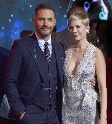 Tom Hardy and Michelle Williams attend 'Venom' premiere in Los Angeles