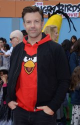 """Jason Sudeikis attends """"The Angry Birds Movie"""" in Los Angeles"""