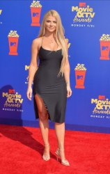 Lauren Sorrentino attends the MTV Movie & TV Awards in Santa Monica, California
