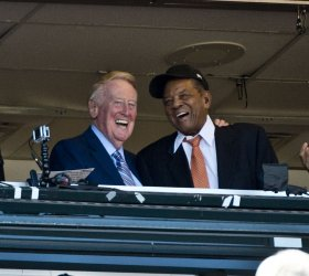 Voice of the Dodgers Vin Scully makes last broadcast
