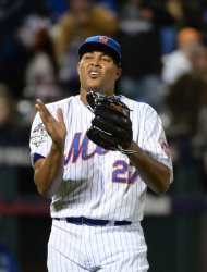 Mets closer Jeurys Familia celebrates