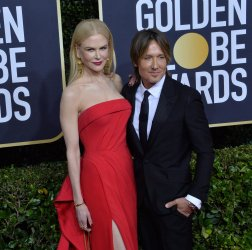 Nicole Kidman and Keith Urban attend the 77th Golden Globe Awards in Beverly Hills