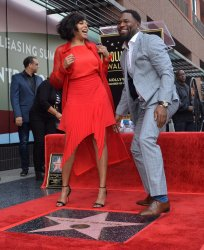 Taraji P. Henson honored on Hollywood Walk of Fame in Los Angeles