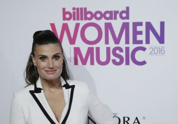 Idina Menzel at the Billboard Women in Music 2016