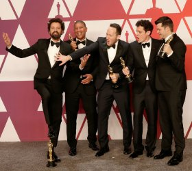 Bob Persichetti, Peter Ramsey, Rodney Rothman, Phil Lord, and Christopher Miller wins Oscar at 91st Academy Awards