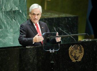 Chile President Sebastian Pinera Echenique at UN GA
