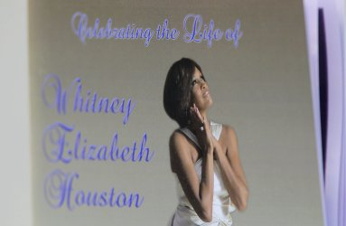 Whitney Houston Funeral at New Hope Baptist Church in New Jersey