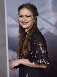 Hera Hilmar attends 'Mortal Engines' premiere in LA