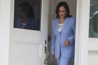 VP Harris welcomes Jordan King Residence in Washington, DC