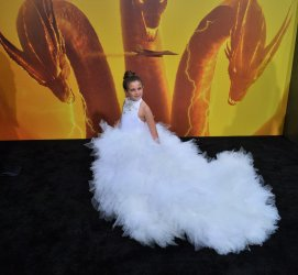 """Lexi Rabe attends the """"Godzilla: King of the Monsters' premiere in Los Angeles"""