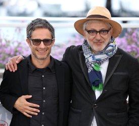 Gael Garcia Bernal and Elia Suleiman attend the Cannes Film Festival