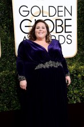 Chrissy Metz attends the 74th annual Golden Globe Awards in Beverly Hills