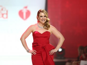 Melissa Joan Hart at American Heart Association's Go Red For Women Show