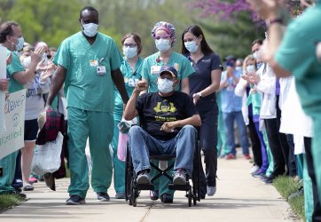 St. Louis Police officer is released from hospital after suffering from Coronavirus