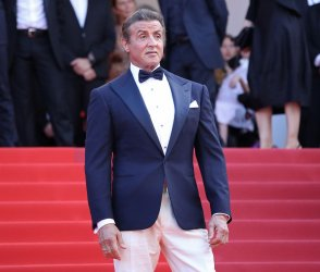 Sylvester Stallone attends the Cannes Film Festival