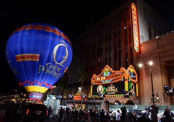 "Scene outside ""Oz The Great and Powerful"" premiere in Los Angeles"