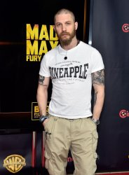 Tom Hardy attends at the 2015 CinemaCon in Las Vegas