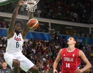USA vs Serbia Men's Basketball at the  Rio Summer Olympics