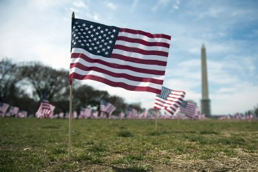 IAVA Place Flags on the National Mall to Highlight Military Suicide in Washington, D.C.
