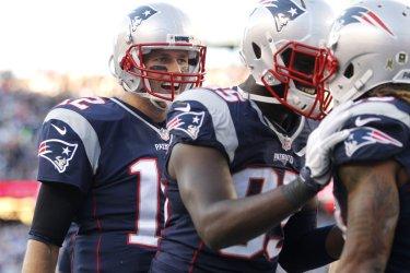 Patriots Bolden touchdown against Redskins