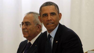 US President Barack Obama visits West Bank