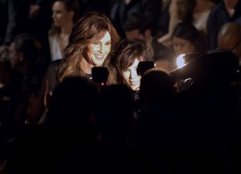 Caitlyn Jenner and Kris Jenner at Victoria's Secret Fashion Show