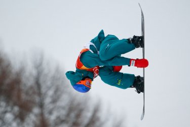 Men's Halfpipe finals at Pyeongchang 2018 Winter Olympics