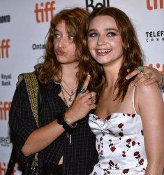 Jessica Barden attends 'Jungleland' premiere at Toronto Film Festival