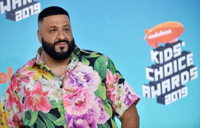 DJ Khaled attends Kids' Choice Awards 2019