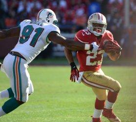 San Francisco 49ers vs Miami Dolphins in San Francisco