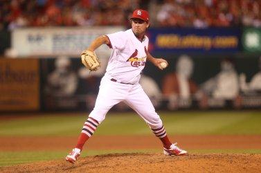 St. Louis Cardinals pitcher Zach Duke