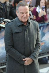 """Robin Williams attends the premiere of """"Happy Feet Two"""" in London"""