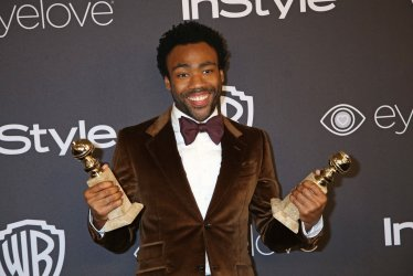 Donald Glover attends the InStyle and Warner Bros. Golden Globe after-party in Beverly Hills
