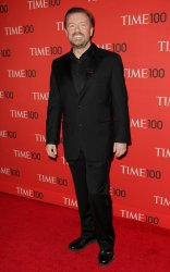 Ricky Gervais attends the TIME 100 Gala in New York