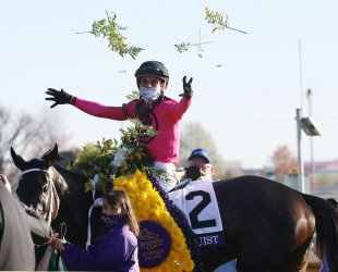 Vequist Wins the Breeders Cup Juvenile Fillies