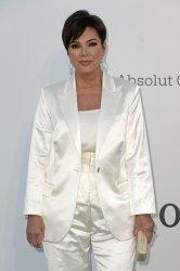 Kris Jenner attends the amfAR Gala in Antibes