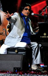 Little Richard performs during a rehearsal for A Capitol Fourth concert in Washington