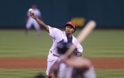 St. Louis Cardinals starting pitcher Carlos Martinez