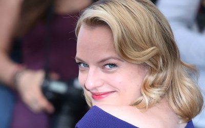 Elisabeth Moss attends the Cannes Film Festival