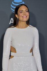 Mandy Moore attends Critics' Choice Awards in Santa Monica