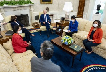 President Biden Meets Congressional Asian Pacific Caucus