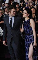 """Robert Pattinson and Kristen Stewart attend the """"The Twilight Saga: Breaking Dawn - Part 1"""" premiere in Los Angeles"""